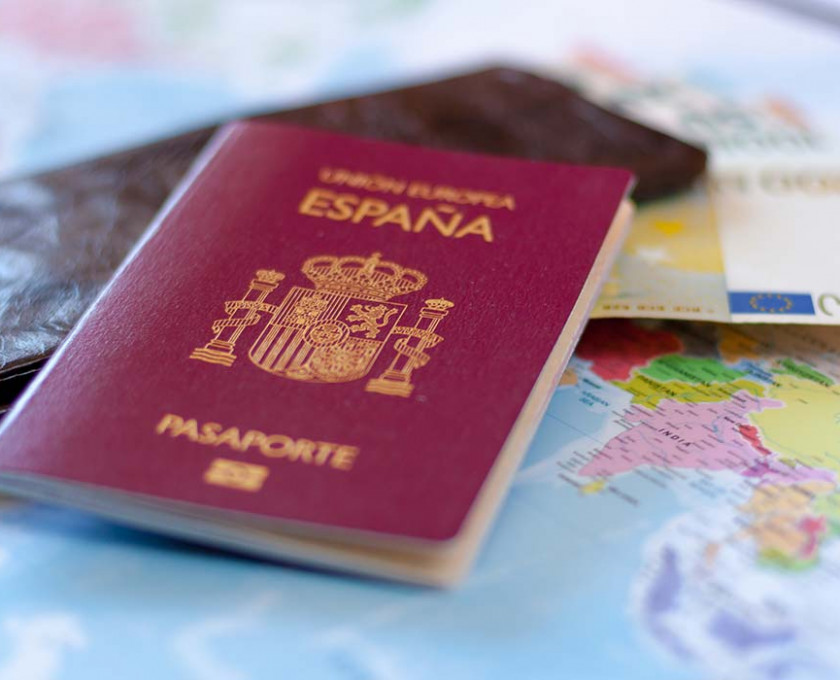 The Spanish passport is the fifth most powerful in the world